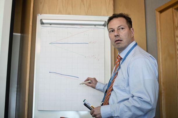 Valtionyhtiö ANS Finlandin toimitusjohtaja Raine Luojus on saanut alustavan raportin tilanteesta.