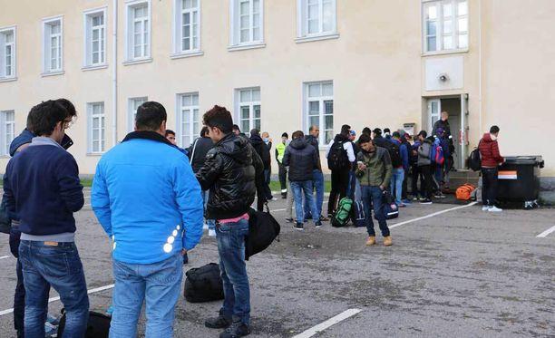 Tuhansia turvapaikanhakijoita saapui Suomeen 2015-2016. Kuva Torniosta.