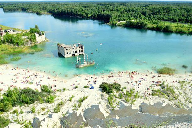 Noin tunnin ajomatkan päässä Tallinnasta sijaitsee maailman ainoa vedenalainen vankila.