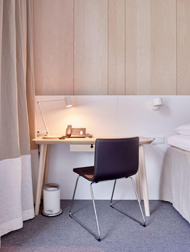 Huoneiden sisustustyyli on tuttua jokaiselle, joka on joskus Ikeassa asioinut.