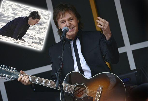 Paul McCartney on edelleen aktiivinen musiikkiurallaan.