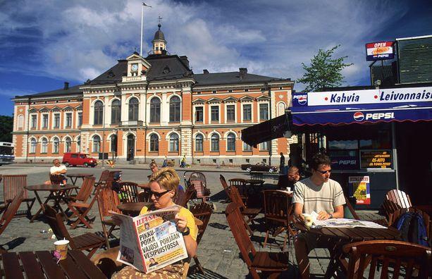 Kuopion kaupungintalo nappasi hopeasijan.