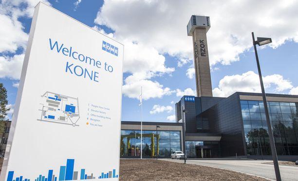 Hissiyhtiö Kone aloittaa yt-neuvottelut, jotka koskevat erityisesti sen Hyvinkään yksikköä.
