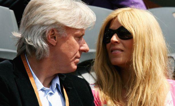 Björn Borg ja Patricia Östfeldt avioituivat vuonna 2002.
