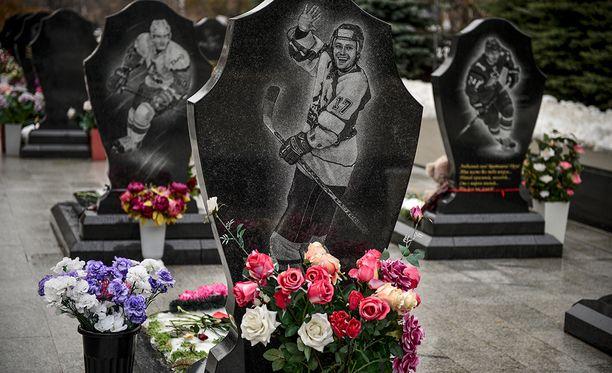 44 ihmistä kuoli Lokomotiv Jaroslavlin lentoturmassa 7. syyskuuta 2011.