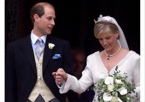 Prinssi Edwardin ja Sophien häitä juhlittiin tasan 20 vuotta sitten.