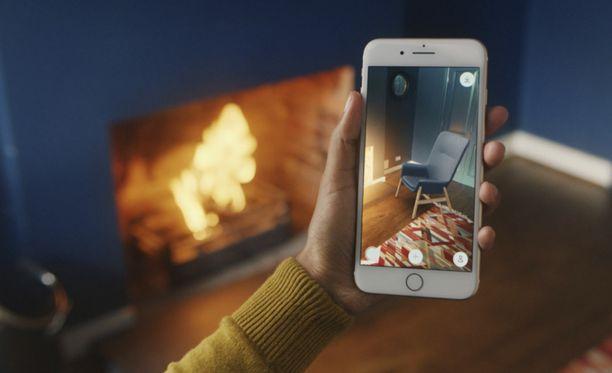 Place-sovelluksella voi nyt virtuaalisisustaa koko huoneen.