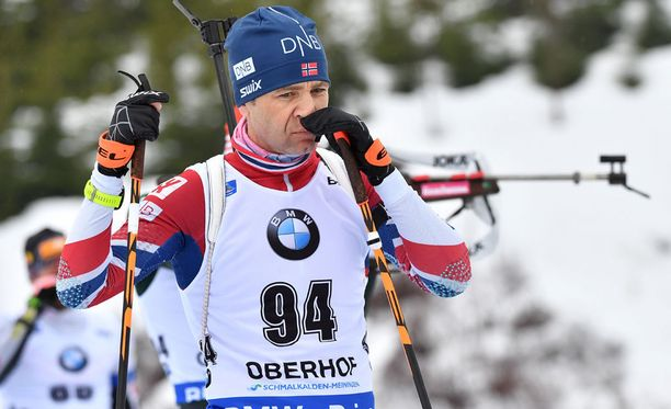 Ole Einar Björndalen on tällä hetkellä kaukana huippuvuosiensa tuloskunnosta.