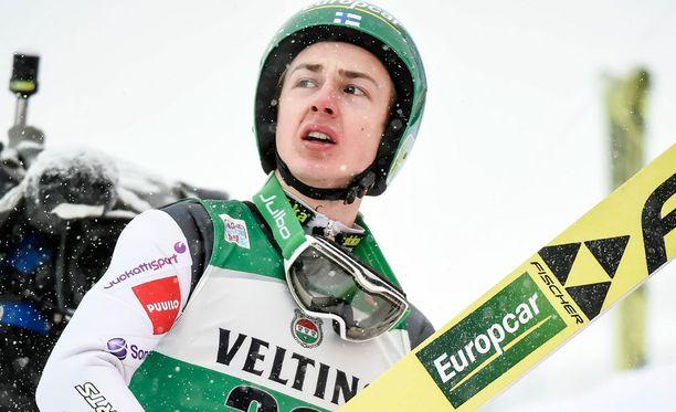 Ilkka Herola oli parhaana suomalaisena 12:s.
