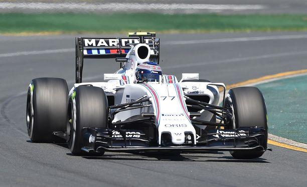 Valtteri Bottas oli perjantain viidenneksi nopein kuljettaja.