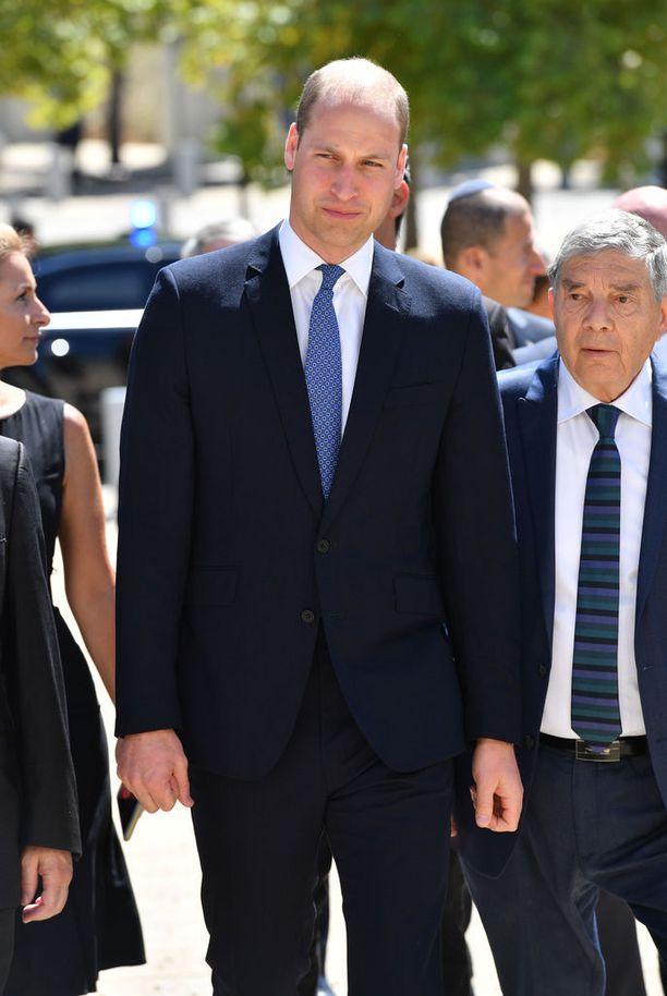 Prinssi Williamin Israelin vierailu on edennyt hyvin.