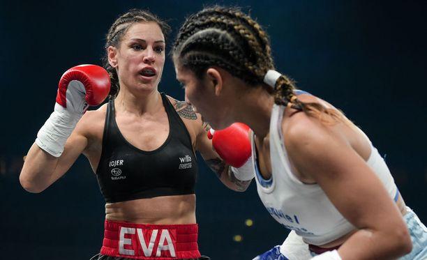 Eva Wahlström toipuu edelleen puolentoista viikon takaisesta voitto-ottelustaan.