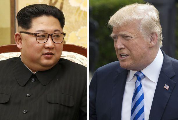 Donald Trump on perunut tapaamisen Pohjois-Korean johtajan Kim Jong-unin kanssa.
