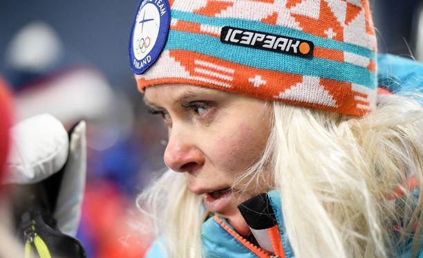 Mari Laukkasen kaudesta 2017-18 tuli pannukakku.