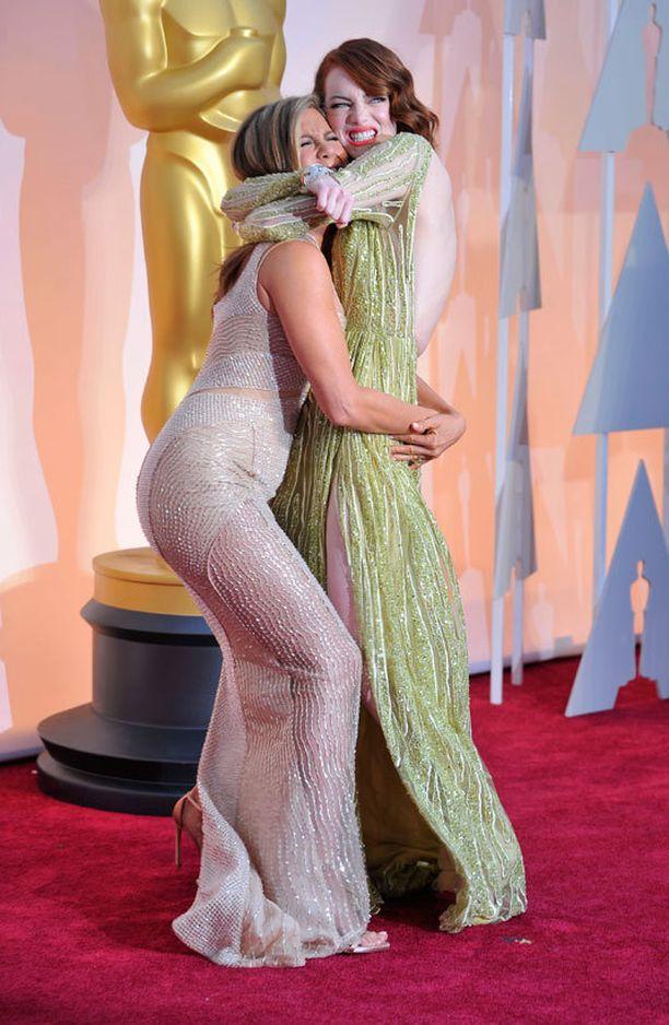 Jennifer Aniston ja Emma Stone