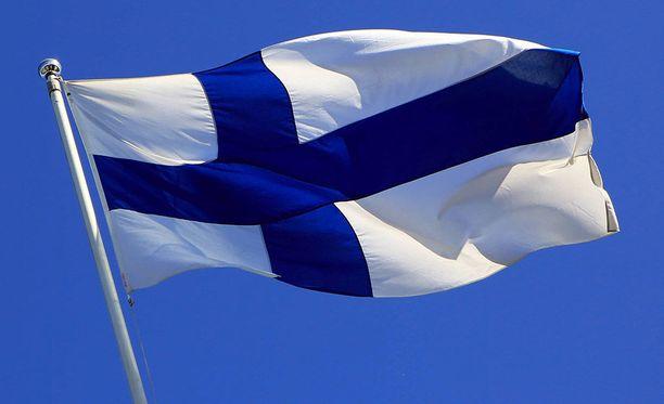 Tänään vietetään Suomen lipun 100-vuotisjuhlaa.