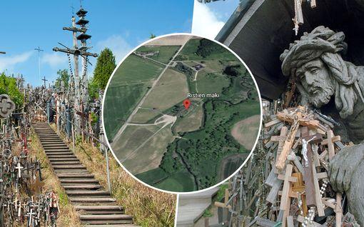 Oletko jo löytänyt? Google Earth paljastaa hyytävän paikan Latvian ja Liettuan rajalla