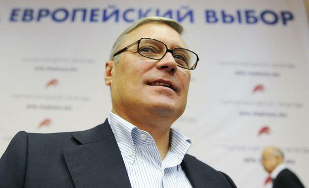 Oppositiojohtaja Mihail Kasjanov ei usko Putinin tulevan valituksi enää presidentiksi vapaissa vaaleissa.