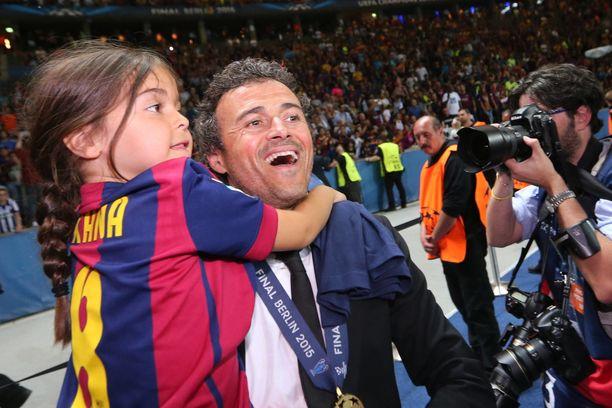 Luis Enrique menetti rakkaan tyttärensä, Xanan, elokuussa 2019.