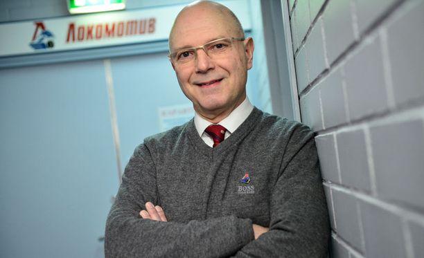 Jorma Valtonen valmentaa Jaroslavlissa neljättä kautta.