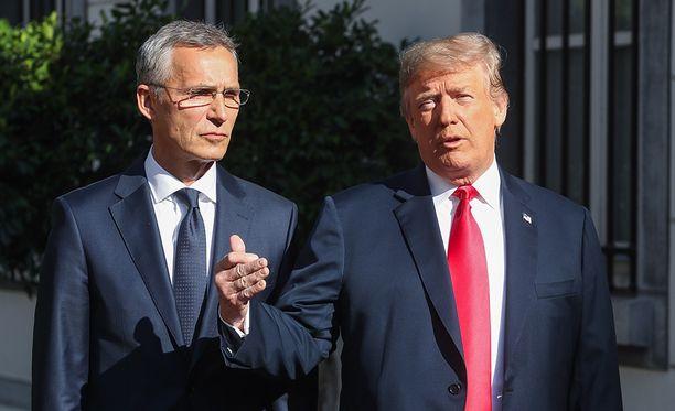 Nato-kokous alkoi keskiviikkona Brysselissä.