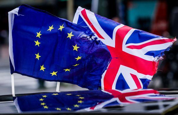Britannia haluaa päästä eron jälkeenkin EU:n vapaakauppa-alueelle.