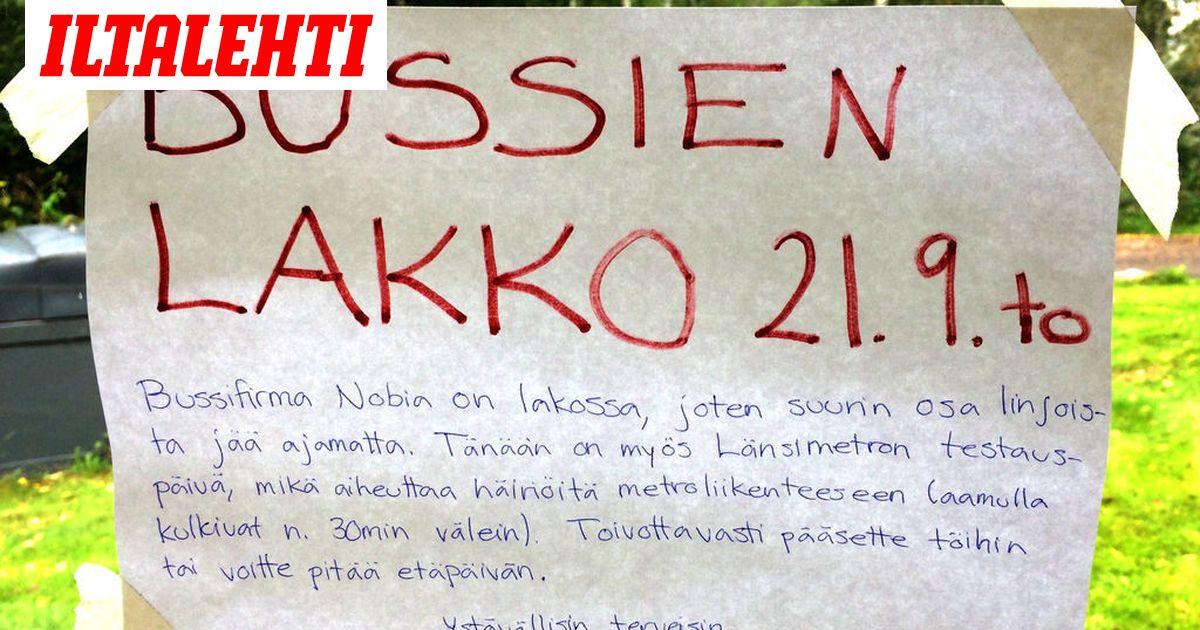 Hsl Bussilakko