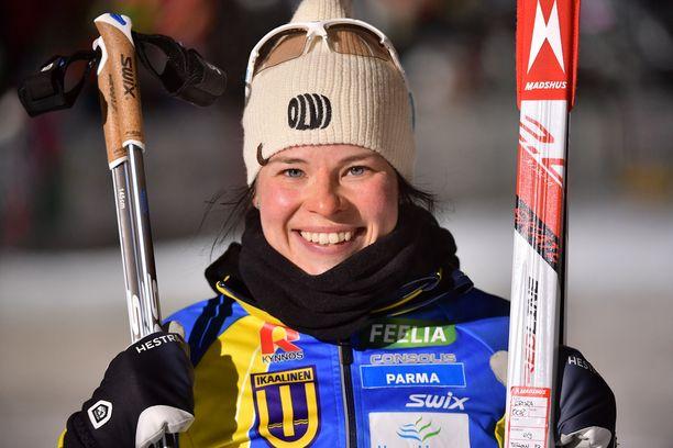 Ikaalisten Urheilijoille tuli Krista Pärmäkosken ankkuriosuuden myötä kakkossija Vantaalla keskiviikkona.