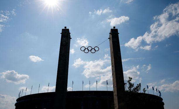Euroopan suurimman juutalaisurheilutapahtuman kisoja käydään muun muassa Berliinin olympiastadionin vierellä olympiapuistossa.