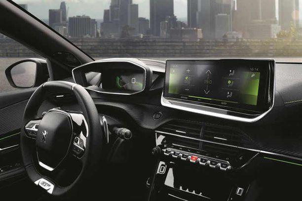 Peugeotin i-Cockpit on rantautunut  nyt myös tähän kokoluokkaan.