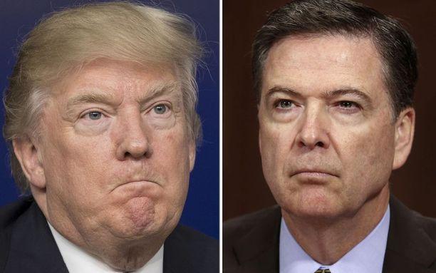 Trumpin joukoilla ja Comeylla on mediatietojen mukaan hieman eri käsitykset siitä, millä sävyllä miehet Venäjä-sotkujen takia eroamaan joutuneesta Mike Flynnistä keskustelivat.
