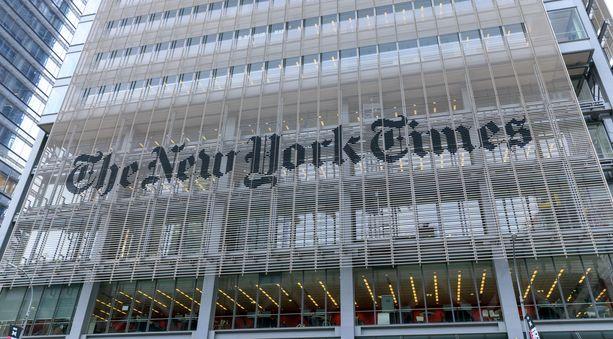 The New York Timesin toimitus New Yorkissa.