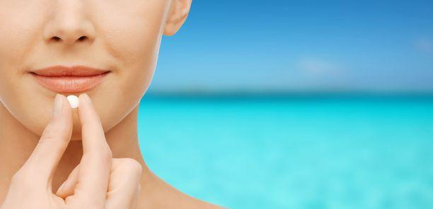 Jotkut lääkkeet voivat herkistää ikävästi auringon UV-säteilylle.