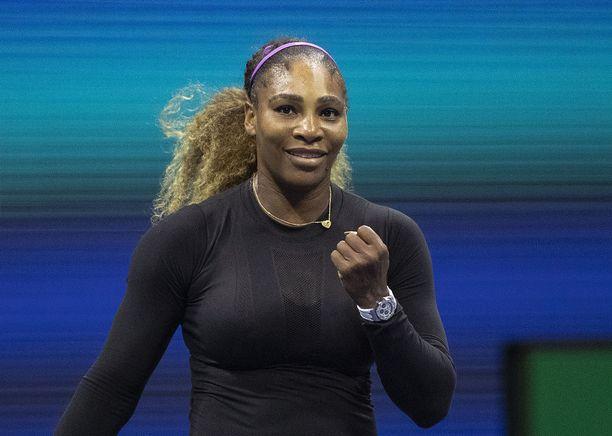 Serena Williamsin Yhdysvaltain avointen finaalipaikka on järjestyksessään kymmenes.