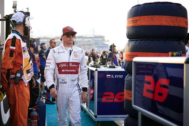 Kimi Räikkönen ei saanut currya.
