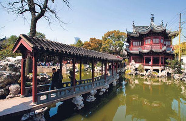 Yun puutarha on yksi Kiinan kuuluisimmista kivipuutarhoista.