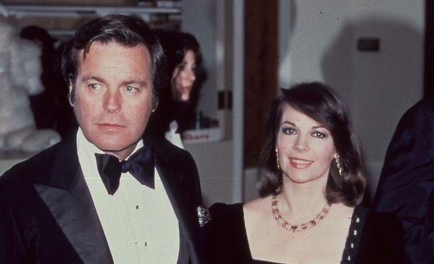 Natalie Wood ja Robert Wagner kuvattuna vuonna 1980.