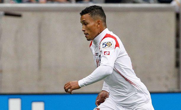 Amílcar Henríquez oli Panaman maajoukkueen luottopelaajia.