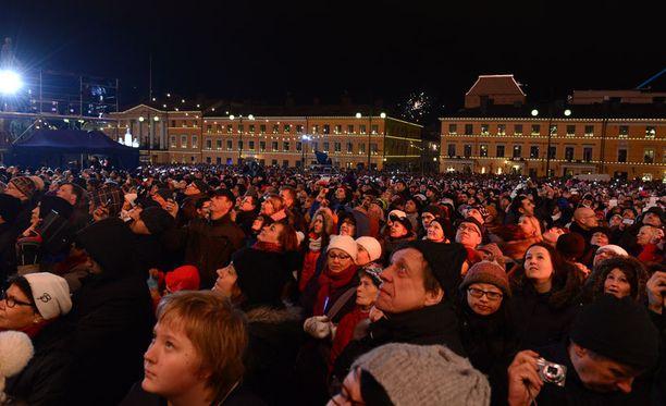 Paikalle saapui yli 20 000 ihmistä.