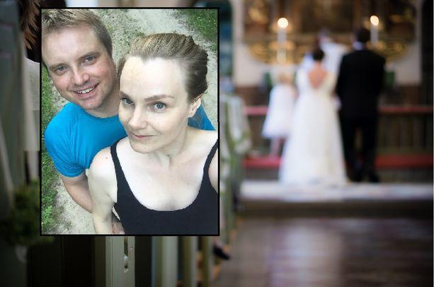 Panu Partanen ja Jenni Järvinen avioituvat siitä huolimatta, että Toivakan seurakunnan äänestysprosentti jäi alle neljänkymmenen.