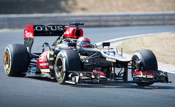 Kimi Räikkönen oli avausharjoitusten kolmas ja toisten harjoitusten kahdeksas.