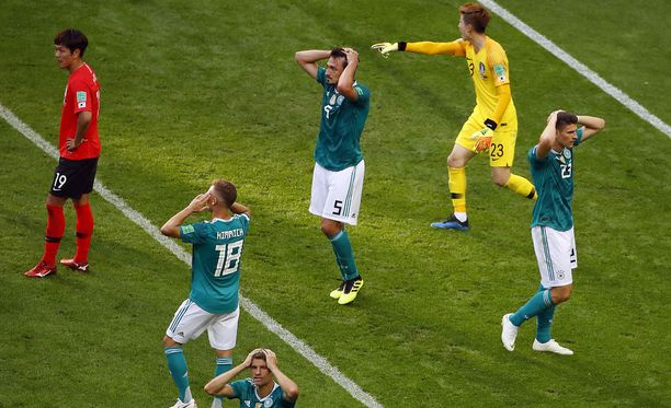 Saksa ei saanut maalia aikaiseksi Etelä-Koreaa vastaan.
