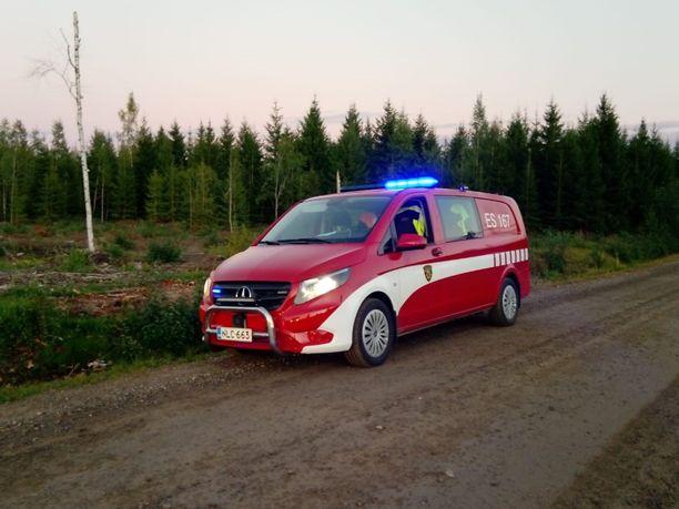 Poliisin julkaisema kuva anastetusta ajoneuvosta.