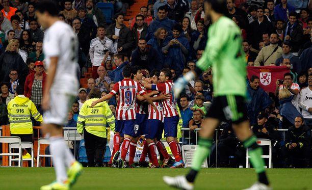 Atletico on voittanut Realin viimeksi vuonna 1999.