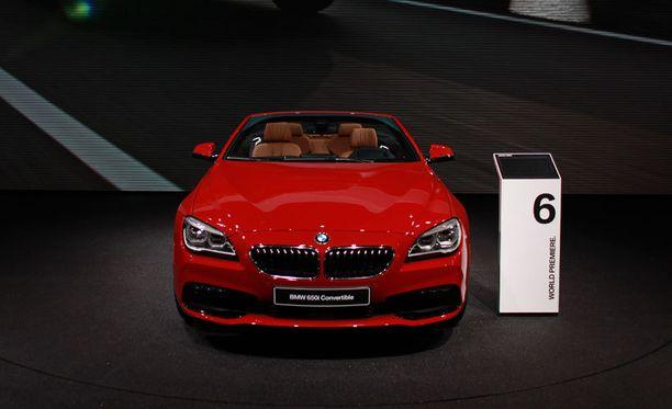 Komea avo-BMW North American International Auto Showssa Detroitissa.
