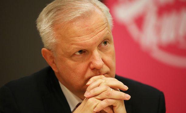 Elinkeinoministeri Olli Rehn (kesk) kannattaa kiistellyn museon tuomista Helsinkiin.