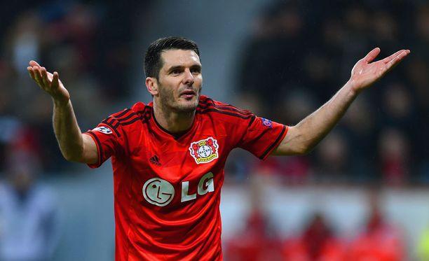 Emir Spahicia ei enää nähdä Leverkusen-nutussa.