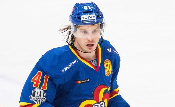 Antti Pihlström nähdään tänään Jokerien kokoonpanossa.