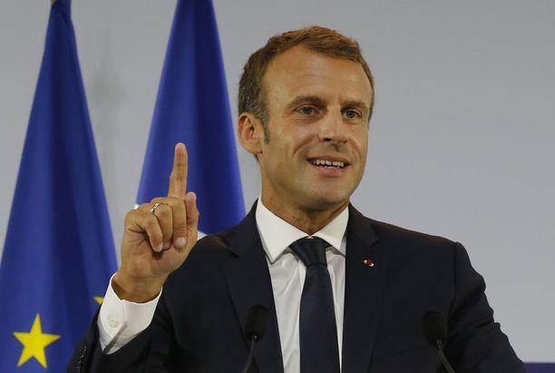 Ranskan presidentti Emmanuel Macronilla on merkittävä rooli seuraavissa eurovaaleissa.