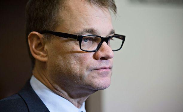 Pääministeri Juha Sipilä (kesk) oli Ylen Ykkösaamun vieraana lauantaina.